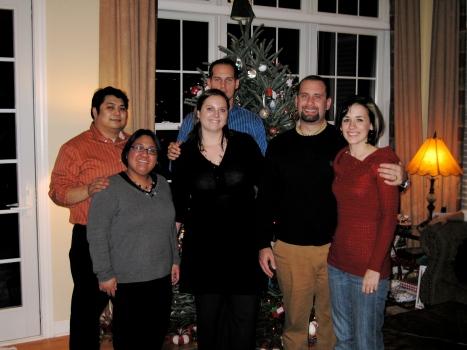 Louis, Joelen, Emily, Aaron, Ben, Nikki