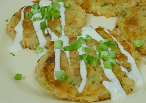 Cheese Potato Cakes