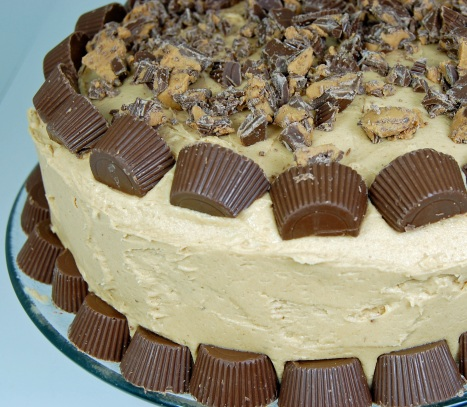 Chocolate Peanut Butter Cake 2