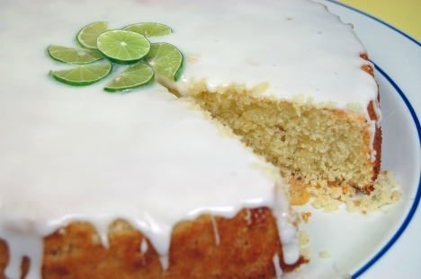 Key Lime Coconut Cake 2