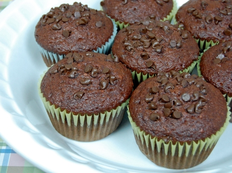 Amish Friendship Chocolate Muffins