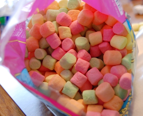 Multi-colored Marshmallows